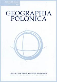Geographia Polonica Vol. 90 No. 1 (2017)