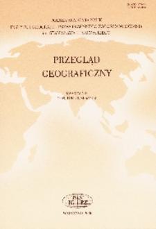 Przegląd Geograficzny T. 82 z. 1 (2010)