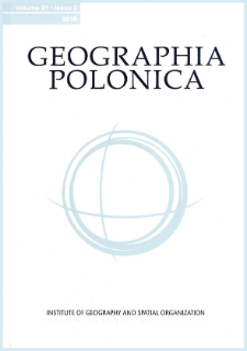Geographia Polonica Vol. 91 No. 2 (2018)
