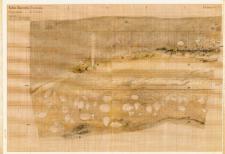 KZG, V 14 C, profil archeologiczny E wykopu