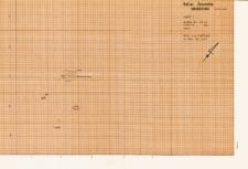 KZG, V 14 C, plan archeologiczny (szkic) wykopu
