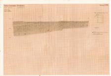 KZG, V 14 D, profil archeologiczny E wykopu