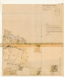 KZG, V 14 CD, plan archeologiczny wykopu