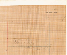 KZG, V 14 AB, plan archeologiczny wykopu