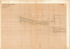 KZG, V 14 CD, profil archeologiczny W wykopu