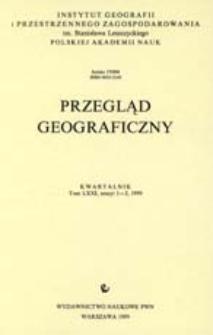 Przegląd Geograficzny T. 71 z. 1-2 (1999)