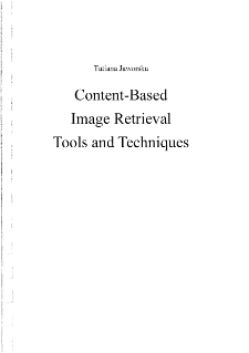 Content-Based Image Retrieval Tools and Techniques