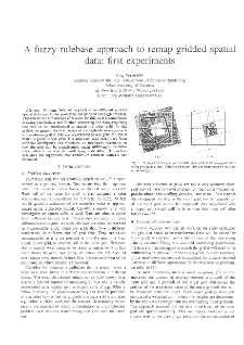 A Fuzzy Rulebase Approach to Remap Gridded Spatial Data: First Experiments