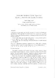Axiomatic analysis of arity-dependent (Quasi-)L-statistics and (Quasi-)S-statistics