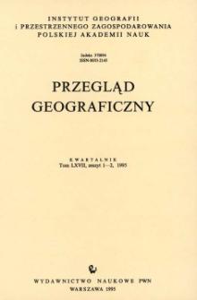 Przegląd Geograficzny T. 67 z. 1-2 (1995)