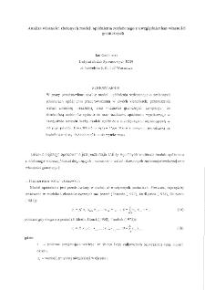 Analiza własności złożonych modeli opóźnienia rozłożonego z uwzględnieniem własności granicznych