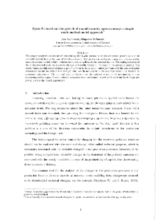 Kyoto Protocol and the Growth of a Small Country Open Economy: a Simple Mathematical Model Approach
