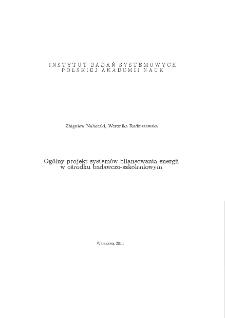 Ogólny projekt systemów bilansowania energii w ośrodku badawczo-szkoleniowym
