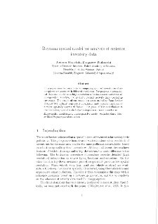 Bayesian Spatial Model for Analysis of Emission Inventory Data