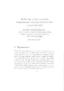 Mechanizmy aukcji i przetargów uwzględniające preferencje wielokryterialne i wieloatrybutowe