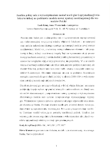 Analiza policy mix z wykorzystaniem metod teorii gier i optymalizacji wielokryterialnej na podstawie modelu nowej syntezy neoklasycznej dla warunków Polski