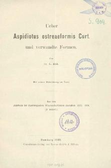 Ueber Aspidiotus ostreaeformis Curt. und verwandte Formen