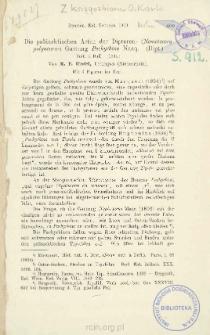 Die paläarktischen Arten der Dipteren- (Nematocera polyneura-) Gattung Pachyrhina Macq. (Dipt.)