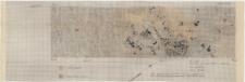 KZG, VI 502 C, 602 A, plan archeologiczny wykopu