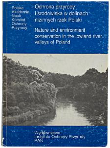 Regulacja stosunków wodnych w dolinach małych rzek nizinnych