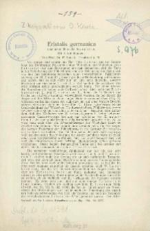 Eristalis germanica eine neue deutsche Syrphide