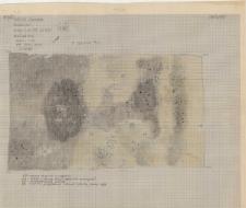 KZG, I 700 B D, plan archeologiczny wykopu