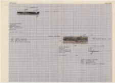 KZG, I 700 D, profil archeologiczny (dwa paleniska)