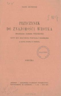 Przyczynek do znajomości wrotka Brachionus forfícula Wierzejski = Note sur Brachionus forfícula Wierzejski