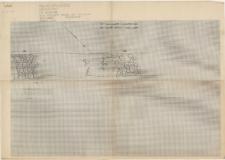 KZG, IV 98 A B, 99 A, plan archeologiczny wykopu