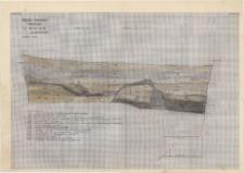 KZG, I 600 B D, profil archeologiczny N wykopu