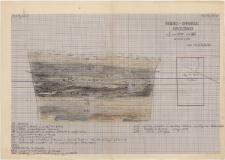 KZG, I 600 B, profil archeologiczny W wykopu