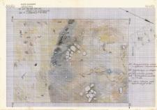 KZG, I 499 C, 498 D, 399 A, 398 B, plan archeologiczny wykopu