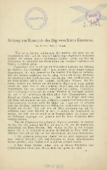 Beitrag zur Kenntnis der Dipterenfauna Kärntens