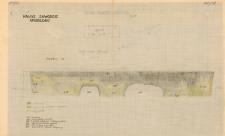 KZG, VI 301 A C, profil archeologiczny N wykopu
