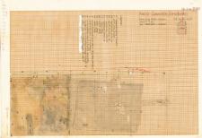KZG, VI 301 D, 302 C, plan archeologiczny wykopu