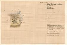 KZG, VI 301 A, profil archeologiczny E wykopu