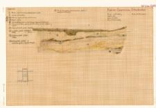 KZG, VI 302 C, profil archeologiczny N wykopu