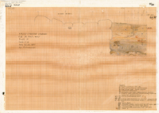 KZG, VI 302 C D, profil archeologiczny E wykopu