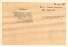 KZG, VI 302 C, profil archeologiczny wykopu