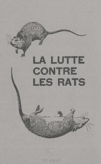 La lutte contre les rats