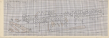 KZG, V 15 C D, plan archeologiczny wykopu