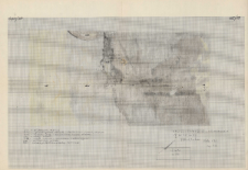 KZG, V 20 A C, plan archeologiczny wykopu