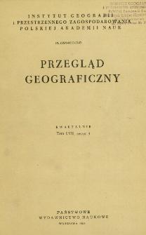 Przegląd Geograficzny T. 57 z. 3 (1985)
