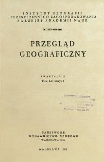 Przegląd Geograficzny T. 55 z. 1 (1983)