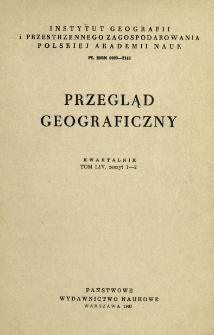 Przegląd Geograficzny T. 54 z. 1-2 (1982)