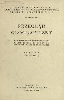 Przegląd Geograficzny T. 53 z. 3 (1981)