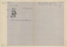 KZG, VI 302 D, plan archeologiczny wykopu, cmentarz (grób 1/60)