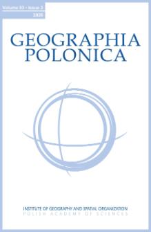 Geographia Polonica Vol. 93 No. 3 (2020), Contents