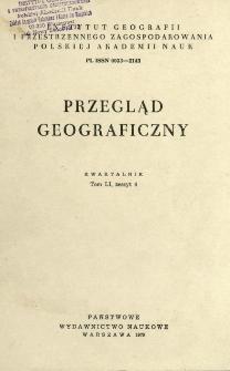 Przegląd Geograficzny T. 51 z. 4 (1979)