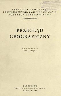 Przegląd Geograficzny T. 51 z. 2 (1979